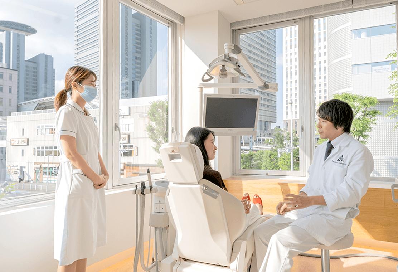 歯科衛生士・患者・歯科医師
